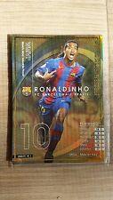 2004-05 Panini WCCF WMVP Ronaldinho FC Barcelona rare card