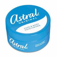 Astral Cream Original All over Body  Moisturiser -200ml/500ml Free P&P