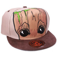 Marvel Comics Guardians Of The Galaxy Snapback Cap Kappe Mütze - Baby Groot
