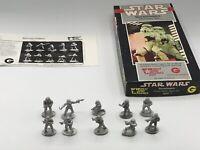 VINTAGE STAR WARS WEST END GAMES STORMTROOPERS METAL MINIATURES FULL BOX SET