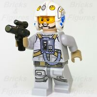 New Star Wars LEGO® Sandspeeder Gunner Rebel Alliance Fighter Minifigure 75204