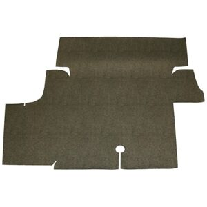 1969-1973 Mustang 2 Piece BLACK MOLDED CARPET Set w Padding 100/% Nylon New
