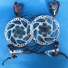 New Shimano SLX M675 Hydraulic Brake with RT64 Centerlock Rotors set