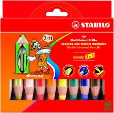 STABILO Holzfarbstift Woody EXTRADICK 10er Etui 88010
