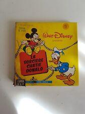 """Film super 8 Disney """"La sorcière chatie Donald"""" N&B et muet"""