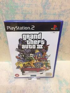 Grand Theft Auto 3  Ps2 ♡ Brand New Case ♡ Sealed