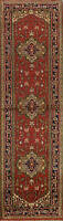 Geometric Traditional Hand-knotted Runner Rug Oriental Staircases Carpet 3x10