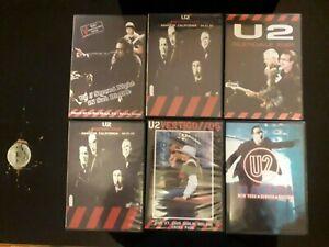 lot dvd u2 vertigo tour + u2 in america dvd 2004/2005