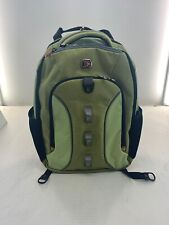 New Wenger by SwissGear Multi-Compartment Laptop Backpack - Lime Green/Black
