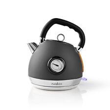 Bouilloire Électrique 1,8 L Soft-Touch Gris Esthétique Ergonomique Cuisine