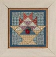 Mill Hill Buttons & Beads Autumn Series Cross Stitch Kit Fruit Basket Quilt