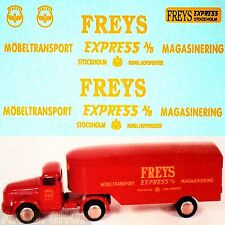 TEKNO VOLVO TITAN Freys EXPRESS möbeltransport SEMI-REMORQUE 1:50