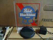PBR PABST BLUE RIBBON  BEER LIGHT SIGN