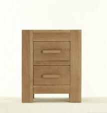 Oak Modern 51cm-55cm Height Bedside Tables & Cabinets