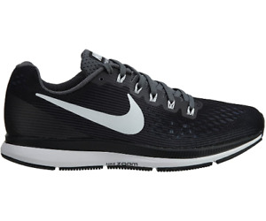 Nike Air Zoom Pegasus 34 TB Men's Running Sneakers Black White Dark Grey