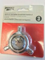 DANCO 46533 #3 TUB SHOWER DIVERTER CANOPY HANDLE STERLING SCHAIBLE ROCKWELL