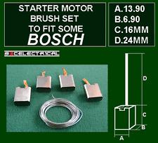 MOTORE di avviamento Pennelli e saldatura per adattarsi alcuni BOSCH BSX704 12 Volt 12V