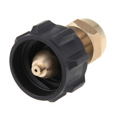 1x Outdoor BBQ 1LB Tank Gas Propane QCC1 Regulator Valve Propane Refill Adapter