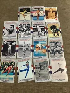 HALL OF FAME US OLYMPIC CARDS