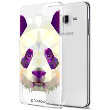 Coque Crystal Pour Galaxy J5 (J500) Extra Fine Rigide Polygon Animals Panda