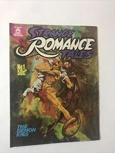 Strange Romance Tales No. 1 Gredown Australian Horror Reprint