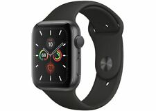 Apple Watch Series 5, 44mm, GPS - Space Gray Aluminum Case w/ Black Sport Band