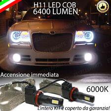 KIT LED CHRYSLER 300C LAMPADE H11 FENDINEBBIA CANBUS 6400 LUMEN 6000K