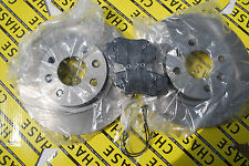 Dacia Logan 04-13, Sandero 08- With ABS 259mm Front Brake Discs And Pads