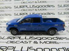 Greenlight 1:64 Scale LOOSE Blu Cummins 2018 NISSAN TITAN XD Pro-4X Pickup Truck