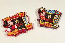 Disney's Mickey and Minnie Mouse Magnetic Soft Touch Photo Frames, Vintage