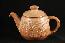 Vintage Frankoma 7T Aztec Coffee Pot Collectible Decorative Made in U.S.A.