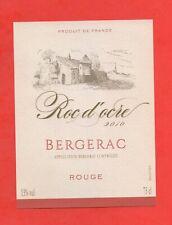 Etichetta Da Vino - Roc Di Ore 2010 - Bergerac (166)