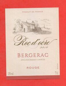 Etikett De Vin - Roc D' Ore 2010 - Bergerac (166)