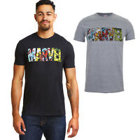 MARVEL Comics Logo - Men's T-Shirt - Official Licensed - Sizes S-XXL