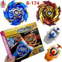 BEYBLADE Burst SuperKing B-174 Limit Break DX Set with Launcher Toy Gifts New