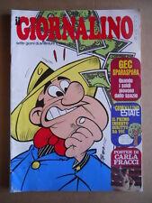 GIORNALINO n°25 1975 Asterix Lucky Luke + Poster Cara Fracci ù [G554]