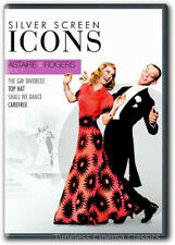 The Gay Divorcee, Top Hat, Shall We Dance, Carefree DVD New Astaire & Rogers