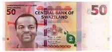 **   SWAZILAND     50  emalangeni   2010   p-38    UNC   **
