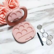 US Shipping* Refillable 6 Eyeshadow/Lip Palette DIY makeup with Aluminum pans