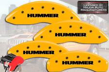"""2006-2010 """"Hummer"""" H3 Frente + Posterior Amarillo MGP Disco de Freno Pinza"""