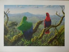 """MORNING GLORY ""  by GREG POSTLE  Limited edition print 209 of 300"