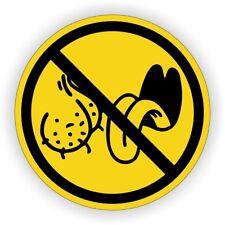 NO BAG LICKERS Funny Hard Hat Sticker / Motorcycle Welding Helmet Decal Stickers