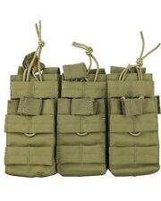 Coyote Tan Compatible MOLLE Triple Duo Mag Pouch Army Pouch Airsoft Air skirmish