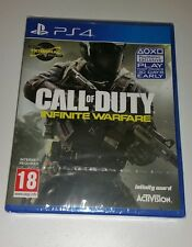 Call of duty: infinite warfare inc dlc PS4 neuf scellé uk pal Sony PlayStation 4