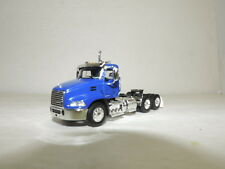 dcp/first gear blue Mack Pinnacle tractor new no box