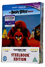 NEW Sealed THE ANGRY BIRDS BLU RAY Limited Edition Steelbook Movie Film Region B