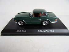 Details Cars Triumph TR6 with Hard Top  Art.354 - 1969  - 1/43