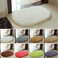 Absorbent Soft Bathroom Bedroom Floor Non-slip Mat Bath Shower Rug Plush Carpet