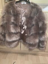 WYLDR Faux Fur Coat Size S Purchased For £150!