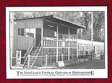 Postcard Tring Town  ground by Newlands Photographic